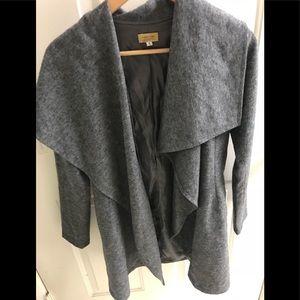 Anthropologie PIKO 1988 gray wool jacket coat S
